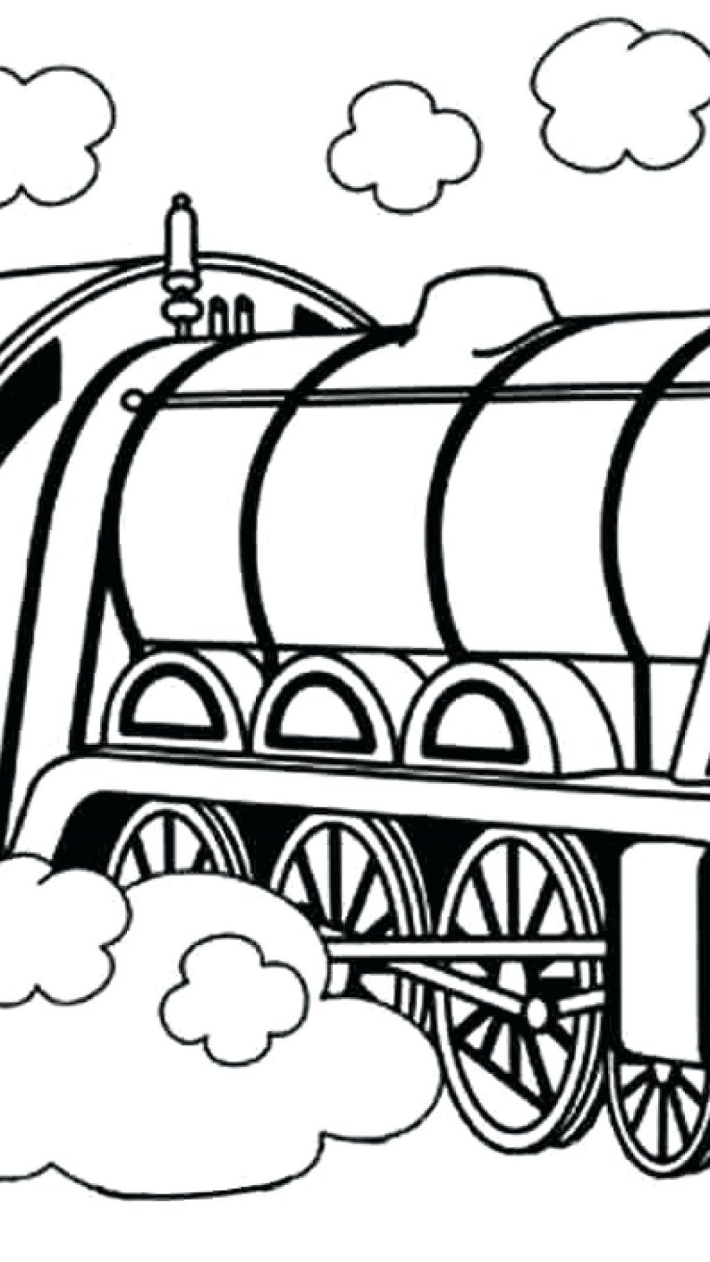 1024x1820 Coloring Page Thomas Train Coloring Pages The To Print