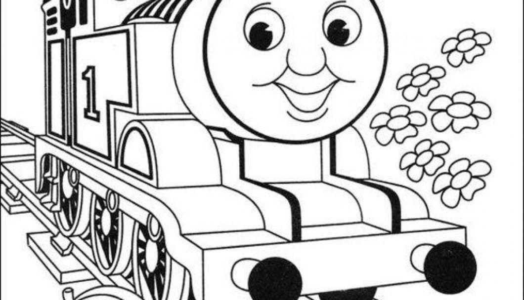 1060x608 Thomas The Train Coloring Pages Pdf Timykids