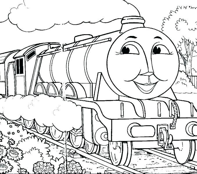 Thomas The Train Coloring Book