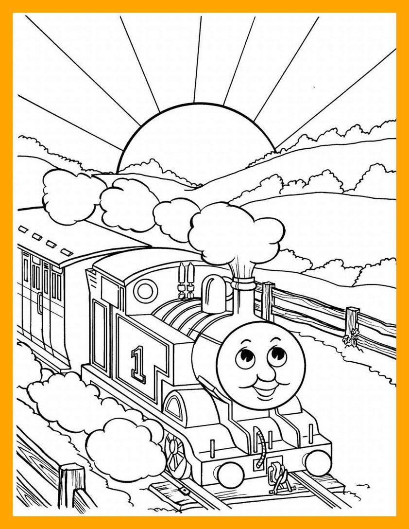 842x1088 Incredible Thomas Coloring Pages Printable Kids Image