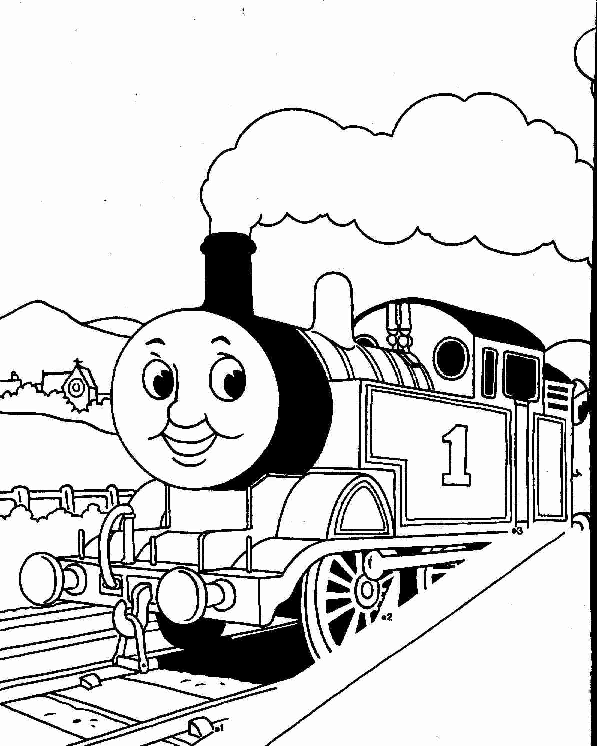 1193x1490 Spencer And Gordon Halloween Thomas The Train Coloring Pages