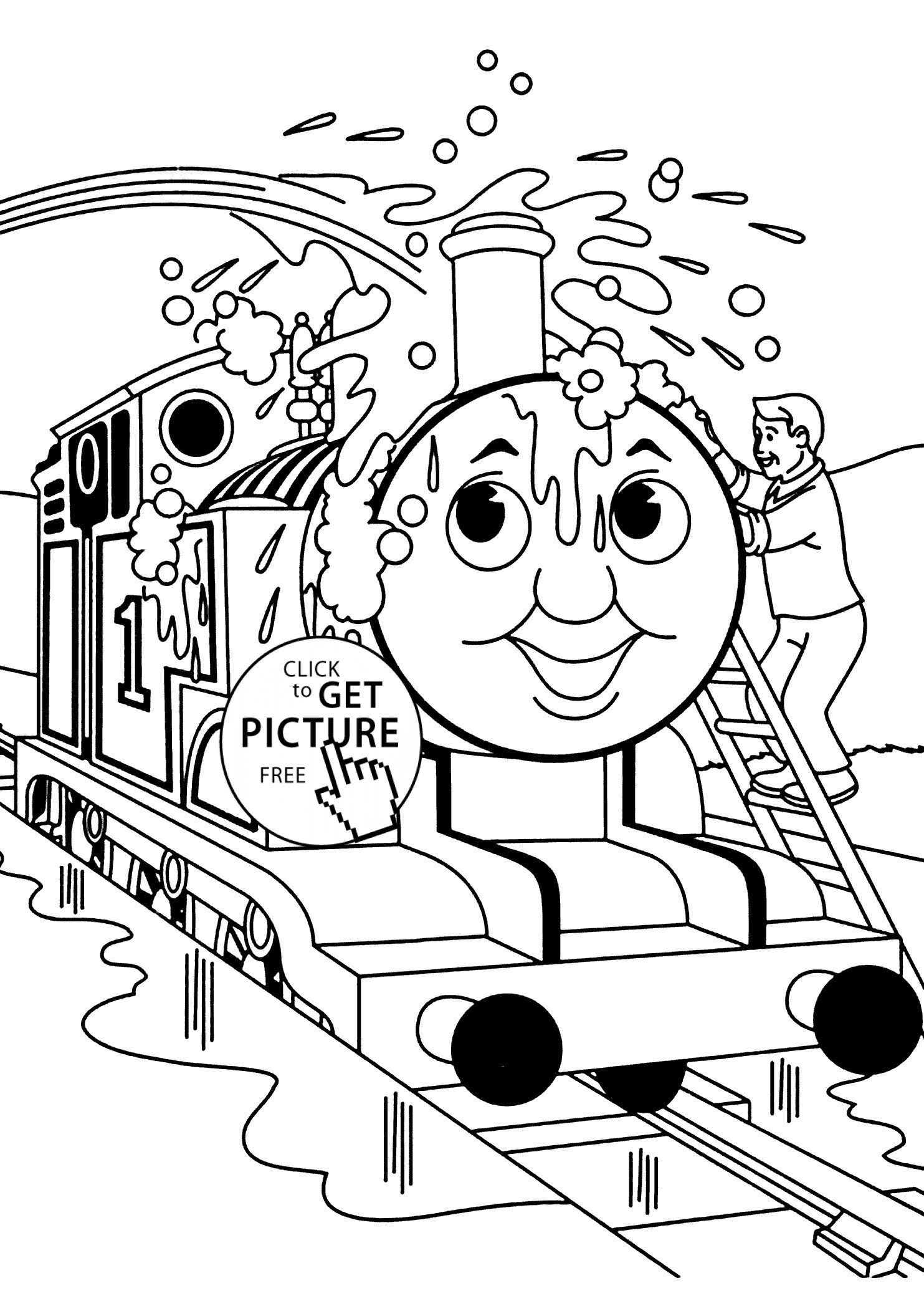 1483x2079 Thomas Friends Coloring Pages Collection
