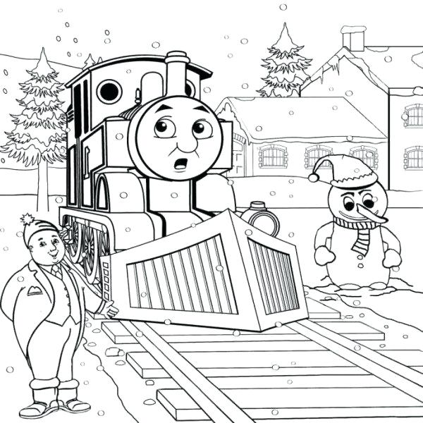 600x600 Thomas The Train Halloween Coloring Pages And Friends Train