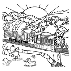 230x230 Top Free Printable Thomas The Train Coloring Pages Online