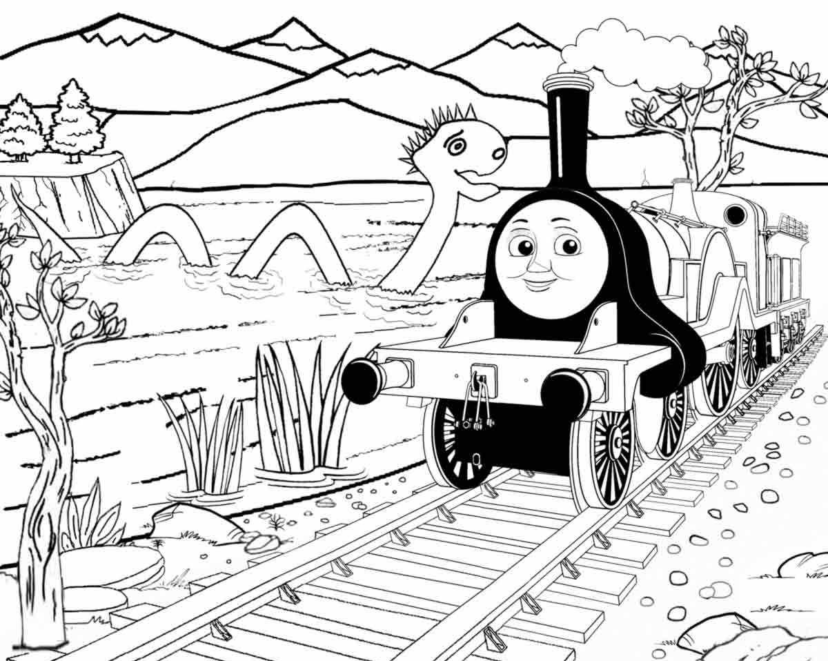 1200x958 Awesome Thomas The Train Coloring Pages Emily From Thomas Coloring