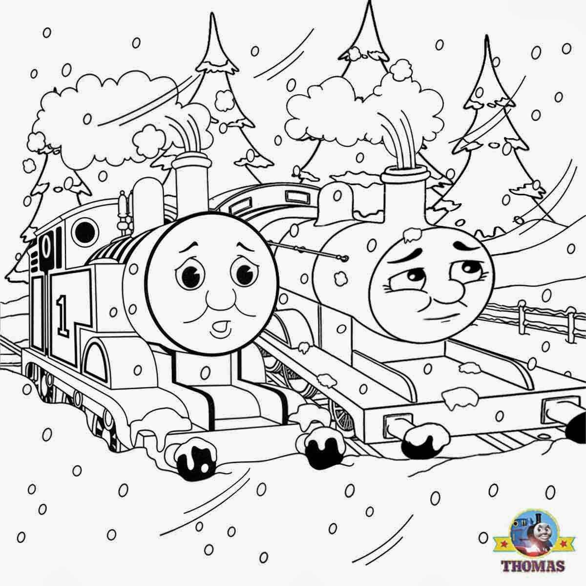 1200x1200 Delivered Hiro The Train Coloring Pages Free Halloween Printable