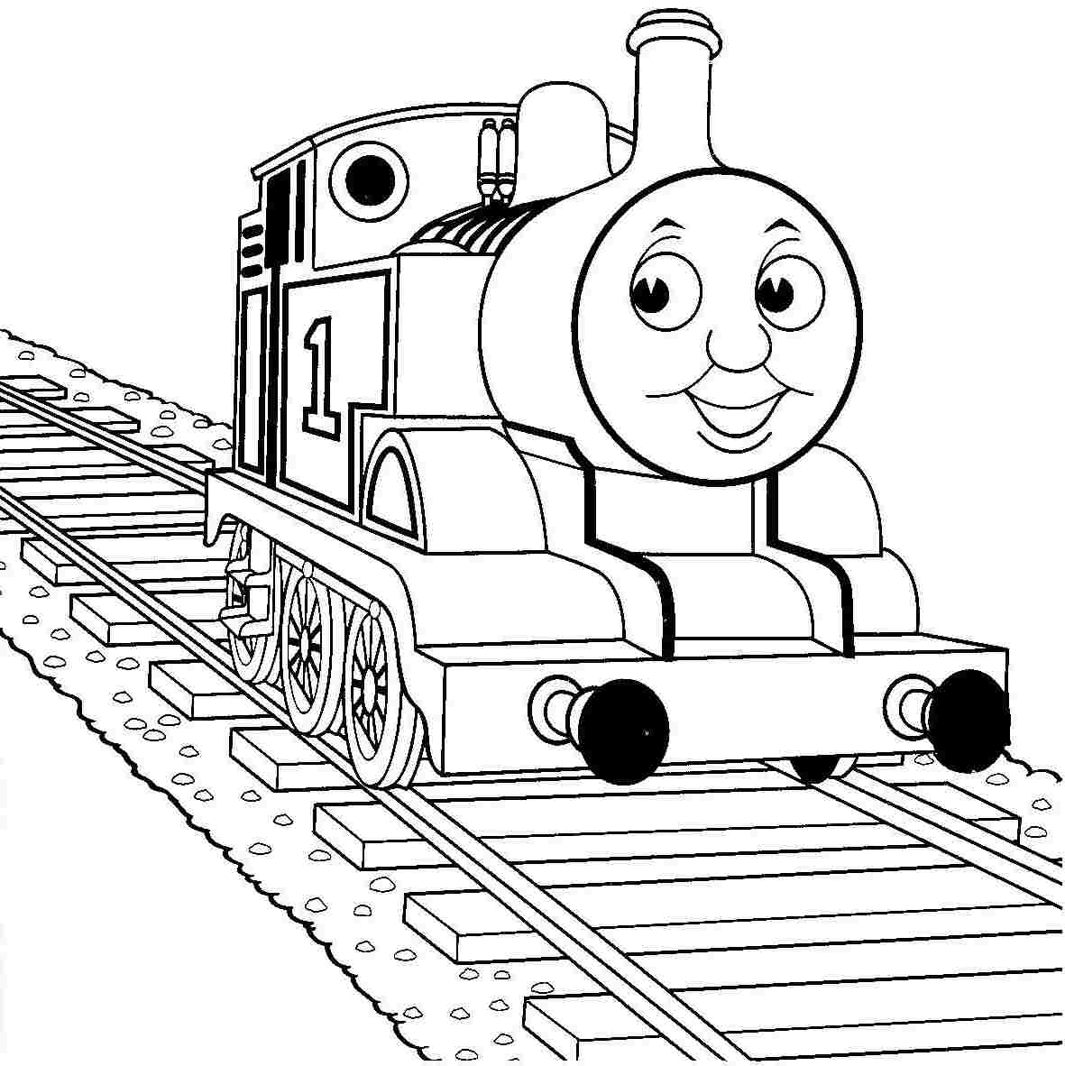 Thomas The Train Printable Coloring Pages At Getdrawings Com