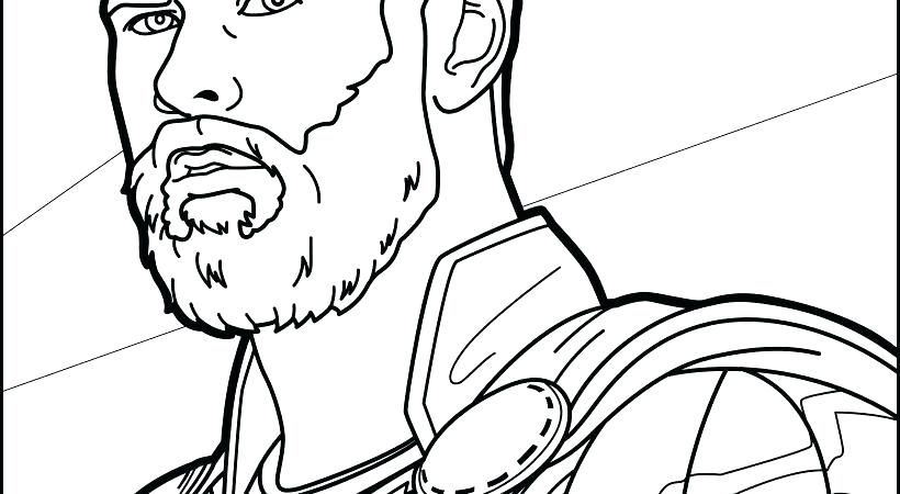 820x450 Thor Coloring Page Coloring Pages Avengers Coloring Page Hard