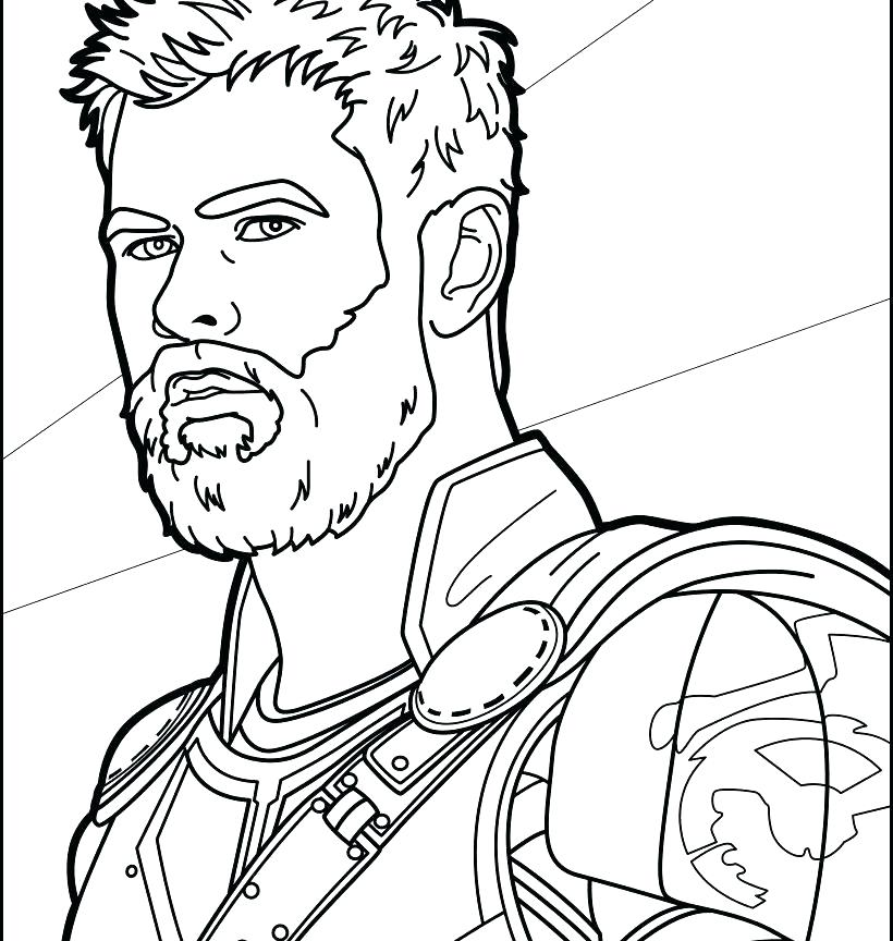 820x864 Thor Coloring Pages Coloring Pages Avengers Coloring Page Pages