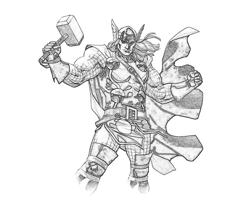 800x667 Thor Coloring Pages Unique Thor Film Coloring Pages Kids
