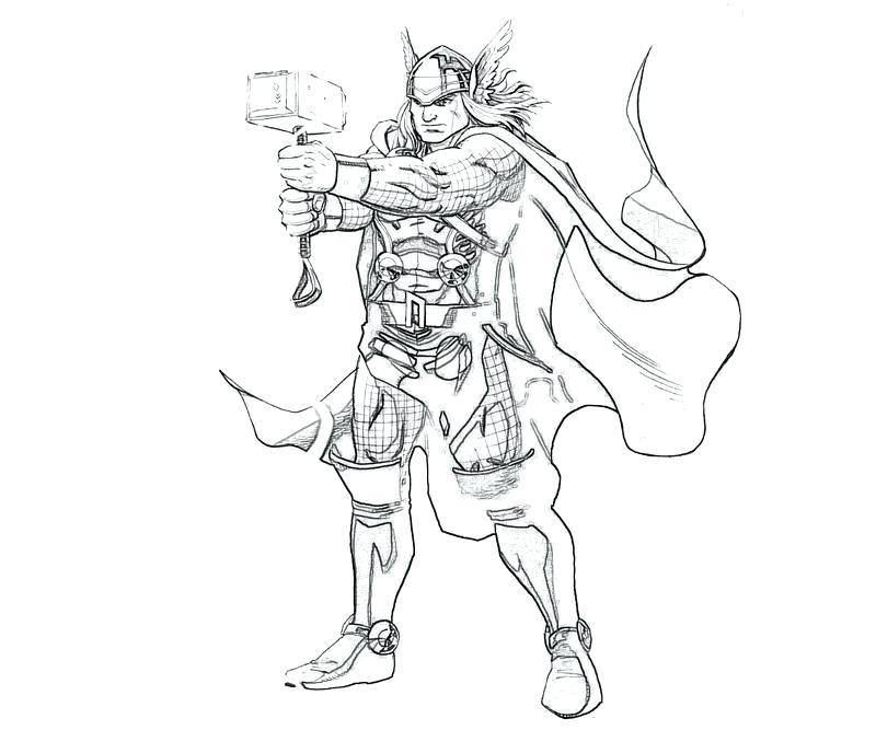800x667 Great Marvel Coloring Pages Lego Thor Colouring Murs