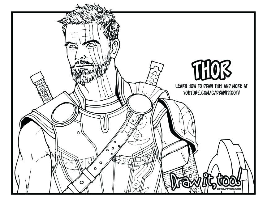 863x667 Police Coloring Pages Coloriage De Thor Lego