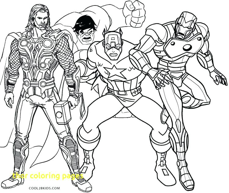750x633 Thor Coloring Page Coloring Pages With Printable Coloring Pages