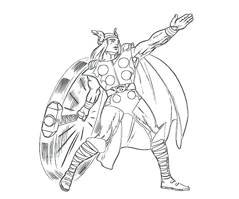 800x667 Thor Coloring Pages Coloring Page Coloring Page Pictures To Color