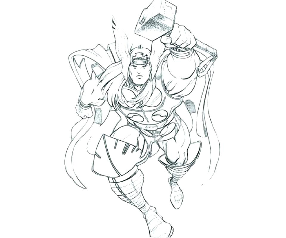 960x799 Thor Coloring Pages Coloring Pages Coloring Page Coloring Pages