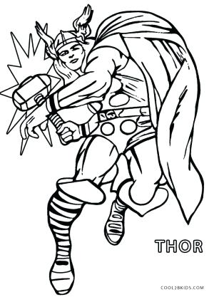 300x417 Thor Coloring Pages Printable Coloring Pages For Kids In Coloring