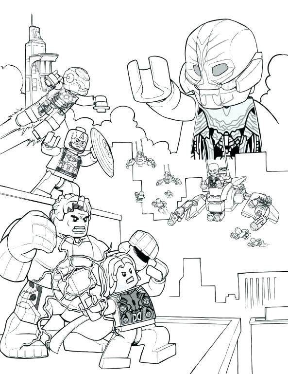 593x768 Coloring Pages Thor Coloring Page Hammer Coloring Pages Colouring