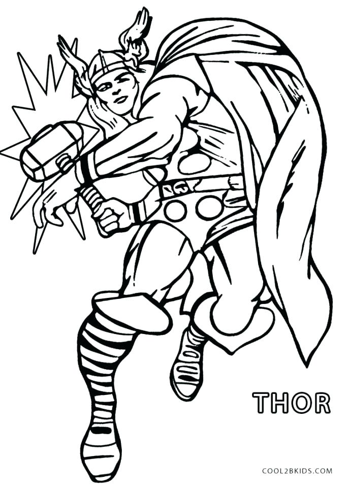 687x956 Coloring Pages Thor Coloring Pages Medium Size Of Coloring