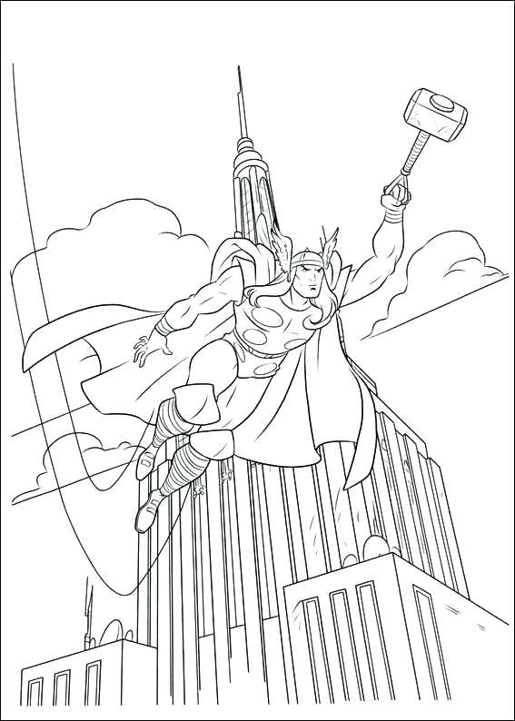 567x794 Coloring Pages Thor Coloring Pages To Print Coloring Pages