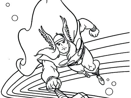 440x330 Coloring Pages Thor Marvel Coloring Pages Thor
