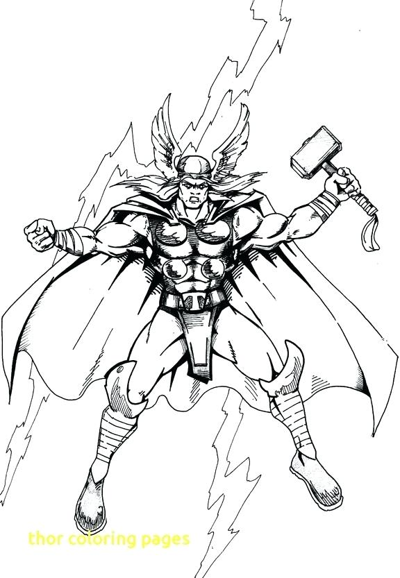 576x833 Thor Coloring Page Coloring Page Movie Coloring Pages Printable