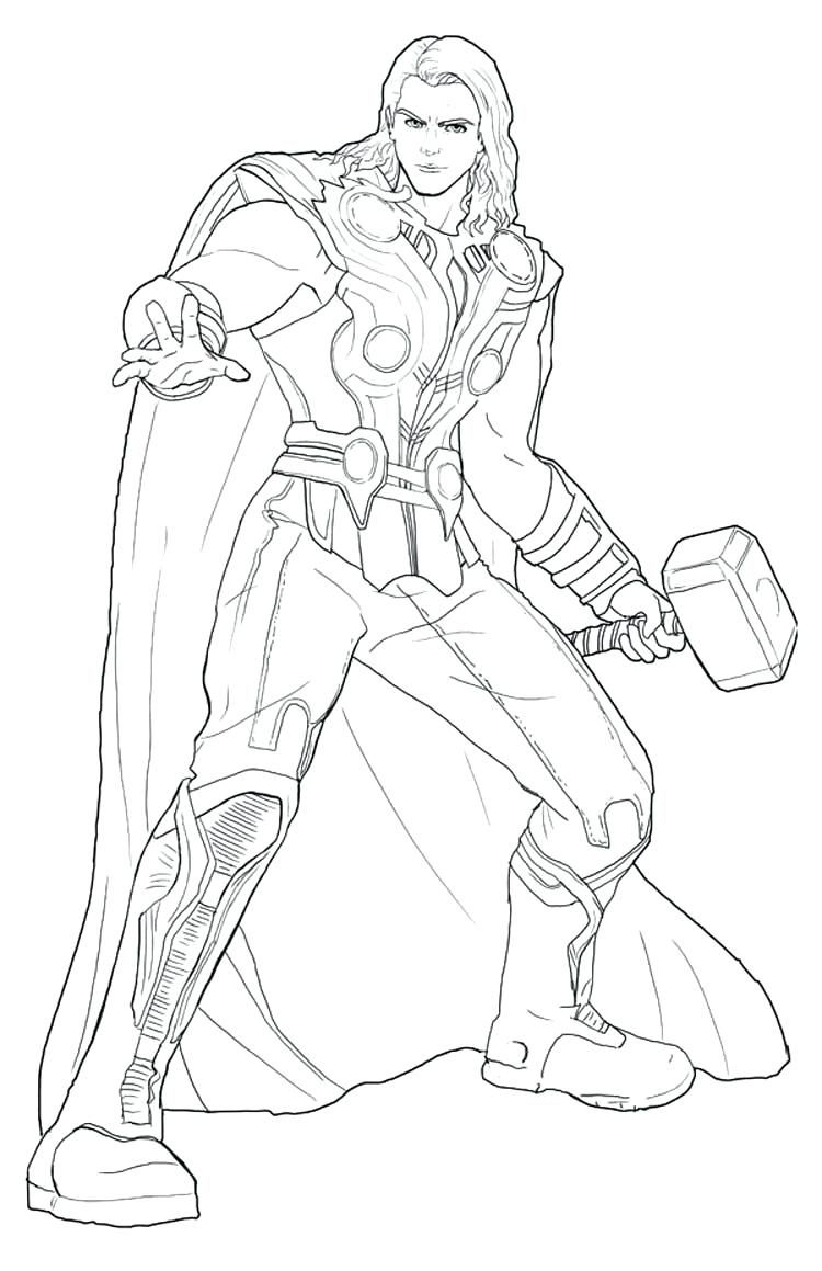 750x1159 Coloring Pages Thor Coloring Pages Thor Face Coloring Pages