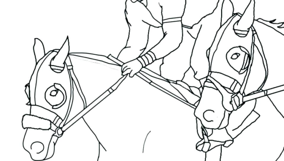 960x544 Horse Racing Coloring Pages Horse Racing Color Pages Horse