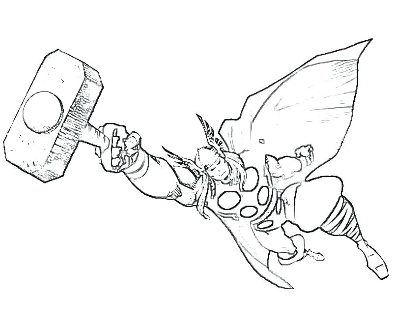 800x667 Thor Coloring Page Good Coloring Pages Or Printable Coloring Pages
