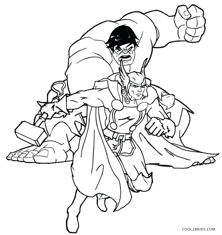 780x823 Thor Coloring Page New Coloring Pages In New Coloring Pages