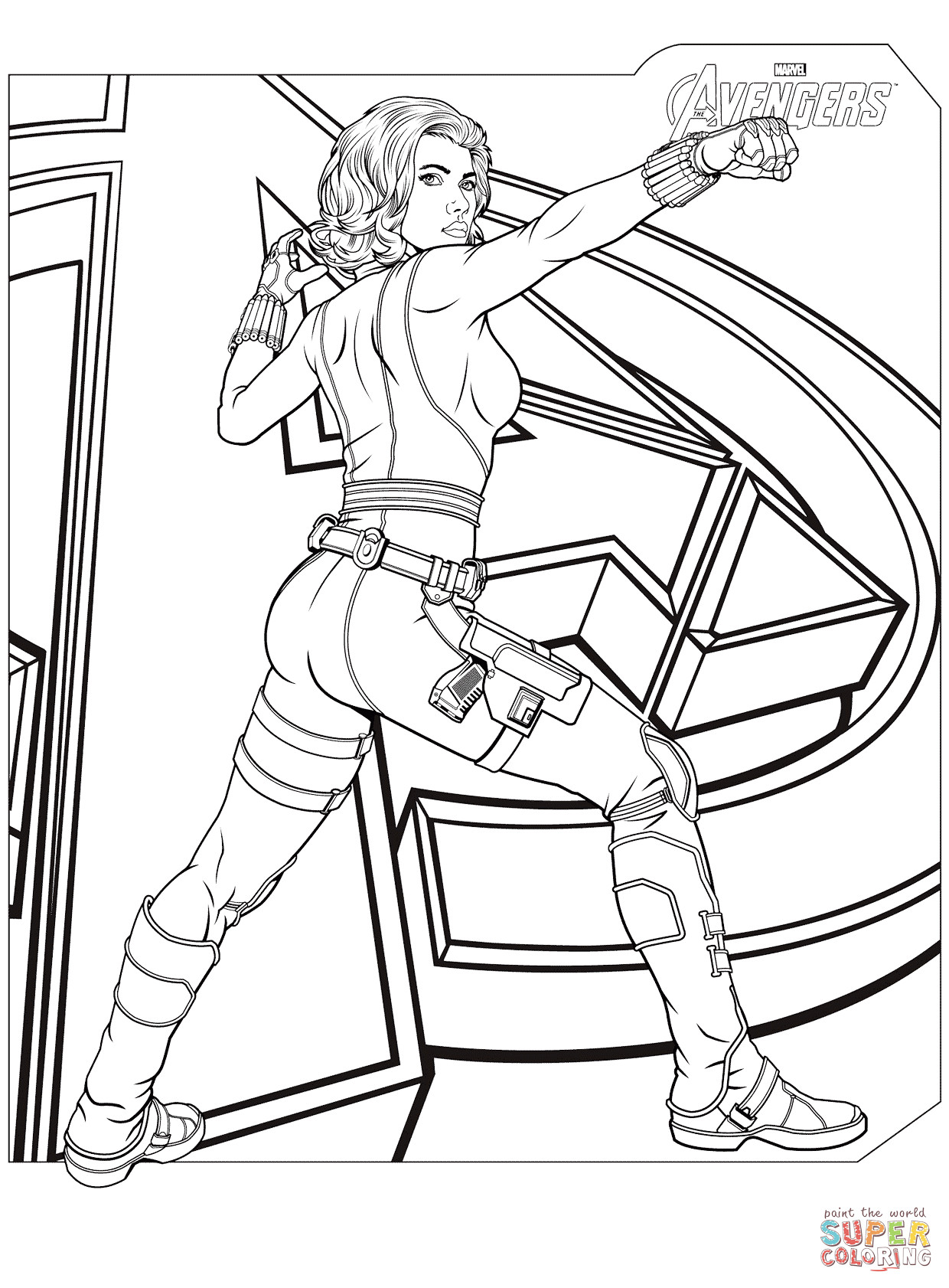 1240x1682 Avengers Thor S Hammer Coloring Page Disney Movies Pleasing Pages