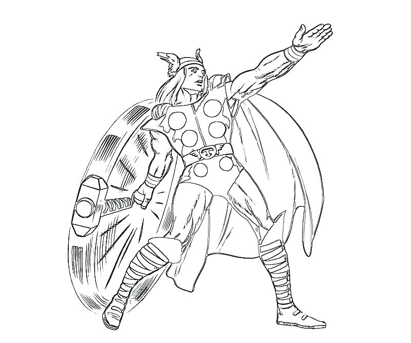 800x667 Thor Coloring Pages Coloring Page Pictures To Color Coloring Pages