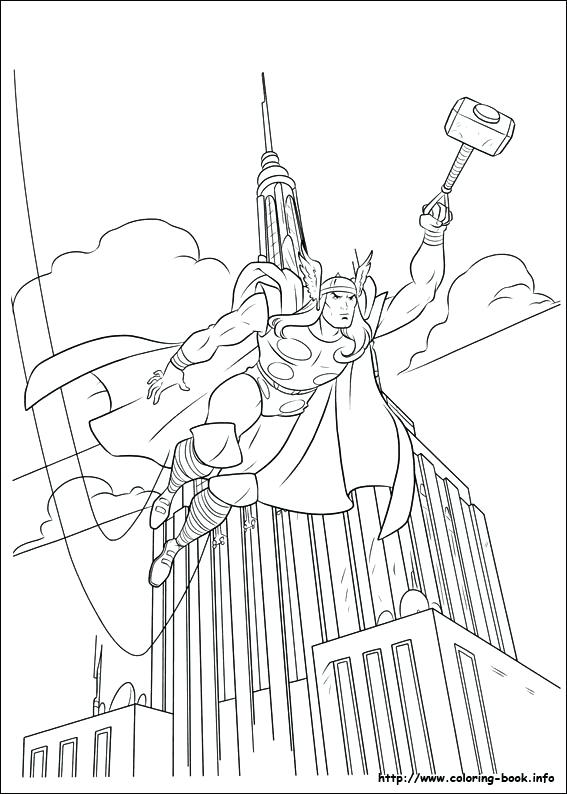 567x794 Kids N Coloring Pages Of Coloring Pages Thor Hammer Coloring Sheet