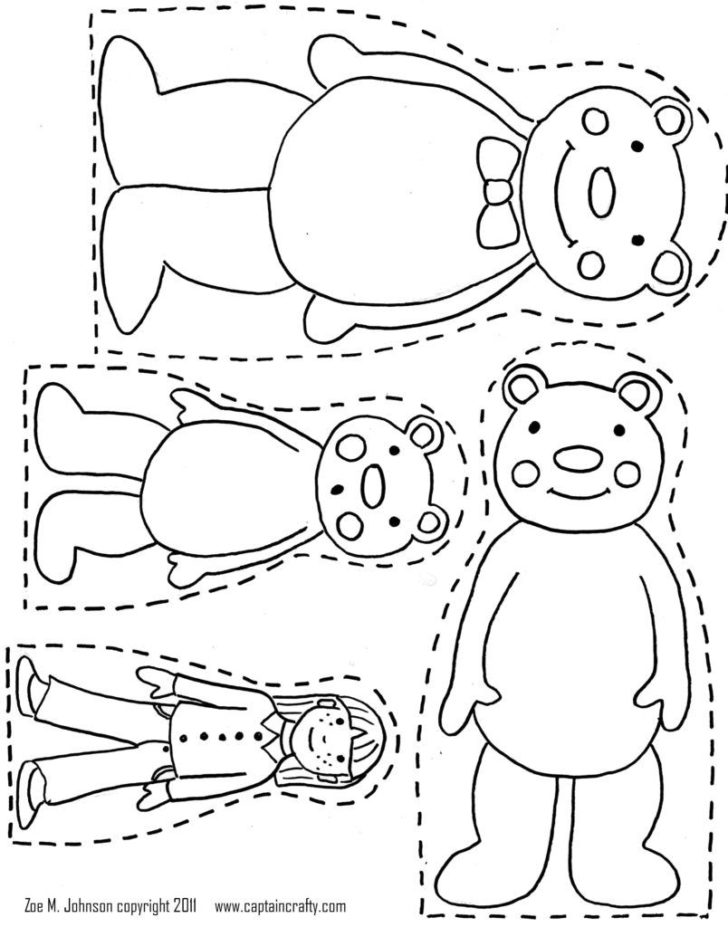 728x927 Goldilocks And The Three Bears Coloring Pages Coloring Pages Kids