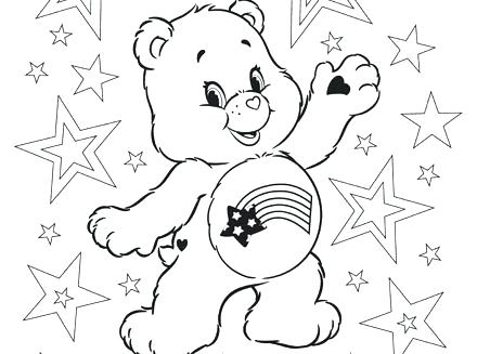 440x327 Goldilocks Coloring Pages Bears Coloring Pages Care Bears Coloring