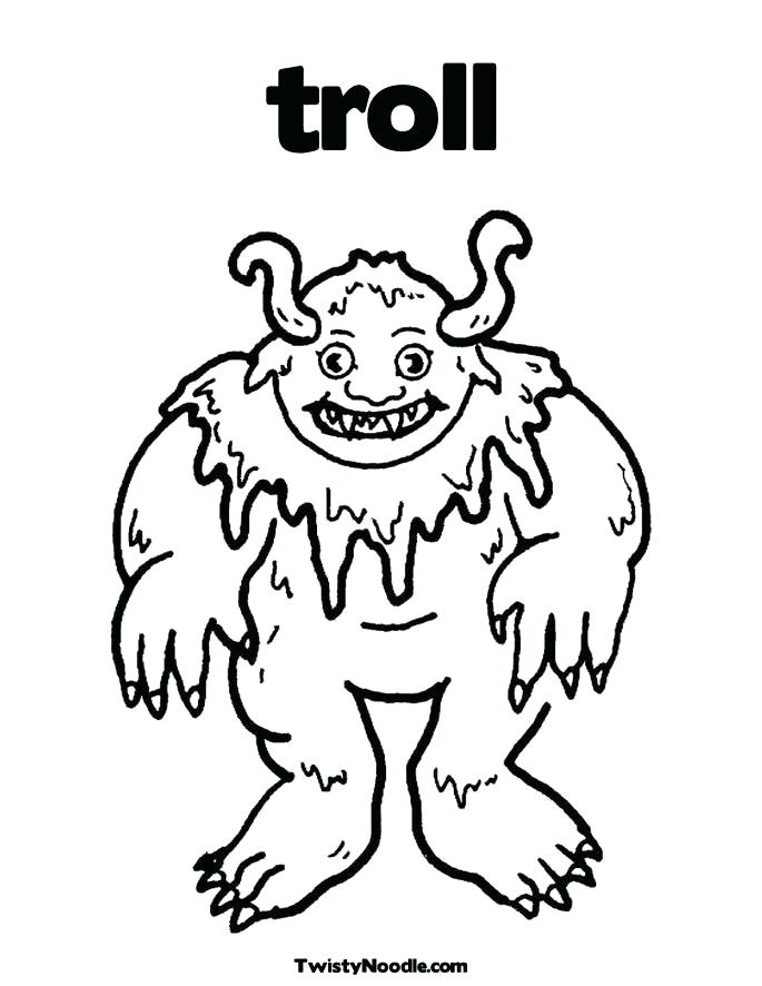 685x886 Billy Goats Gruff Pictures Printable Coloring Three Billy Goats