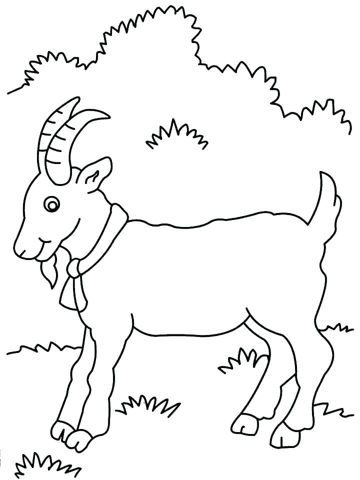 720x960 Three Billy Goats Gruff Coloring Pages Colouring Sheets