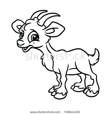 450x470 Billy Goats Gruff Coloring Page Pictures Printable Three Pages