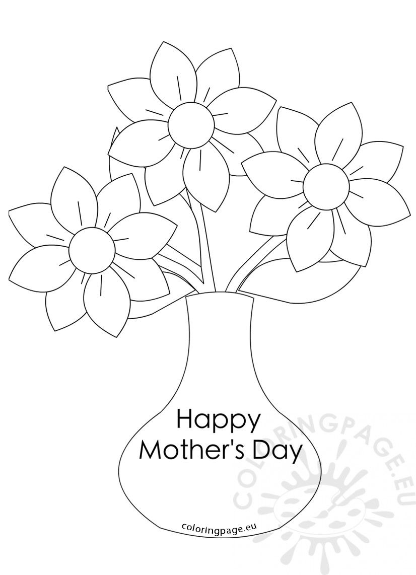 Three Coloring Page