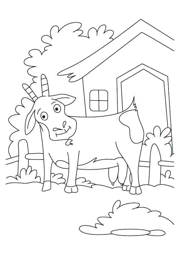595x842 Three Billy Goats Gruff Coloring Pages Three Billy Goats Gruff