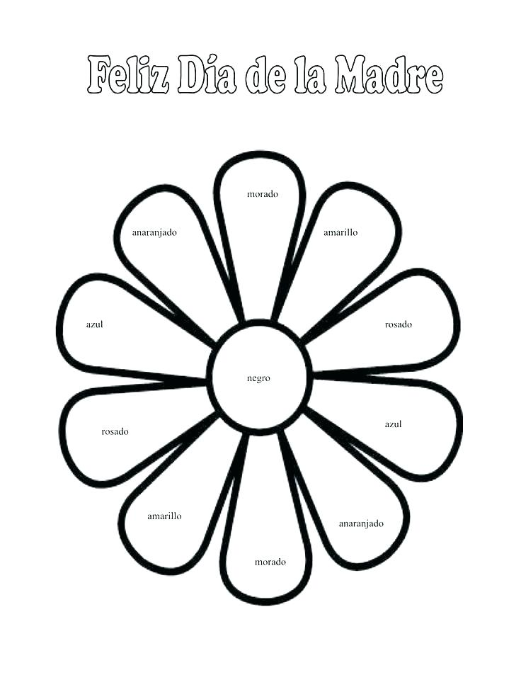 736x953 Coloring Book In Spanish