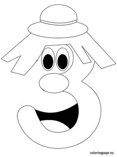 236x318 Number Two Coloring Page Numbers Number, Math