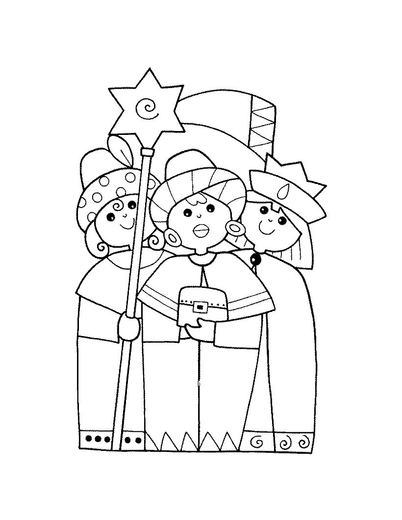 820x1060 Feast Of Epiphany Coloring Pages