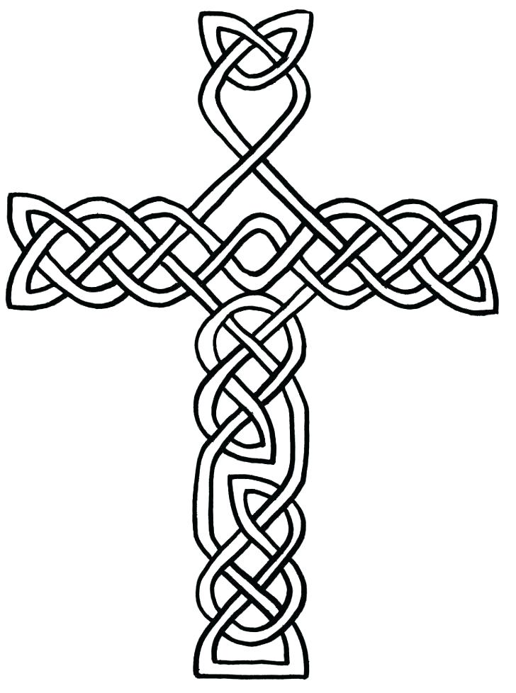 728x978 Cross Color Pages Cross Coloring Pages Packed With Printable Cross