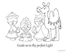 236x182 Three Kings Day Coloring Pages