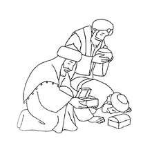 220x220 Three Kings Coloring Pages