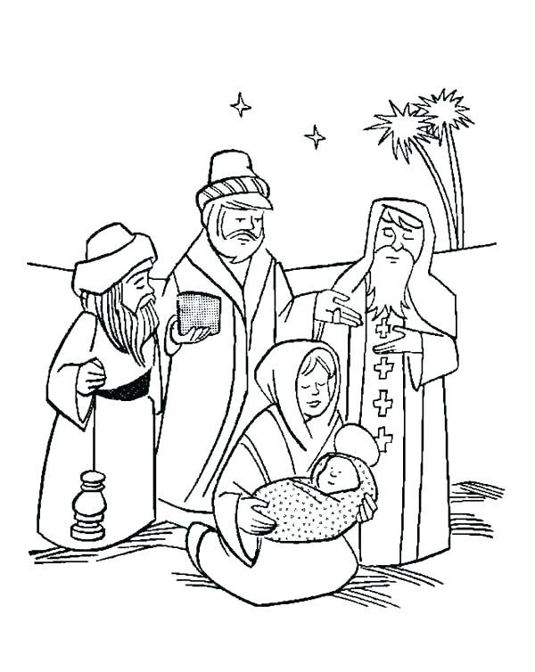 600x754 La Kings Coloring Pages Three Wise Men Coloring Pages La La Kings