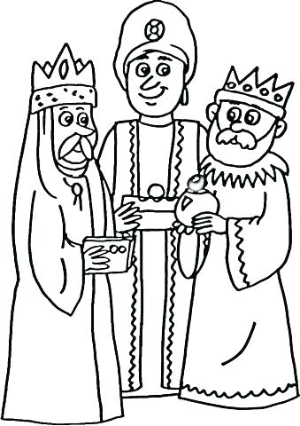339x480 Three Wise Men Coloring Page Three Kings Coloring Pages Wise Men