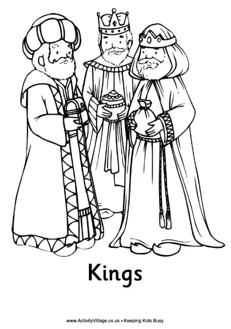 460x653 Three Wise Men Coloring Pages Nativity Colouring Pages The Three