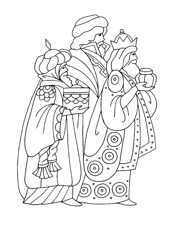 600x776 Wise Men Coloring Pages King Coloring Pages Three Kings Coloring