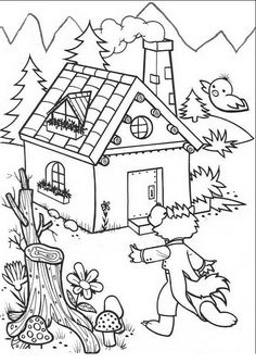 236x334 Three Little Pigs Coloring Pages Free Disney Printables